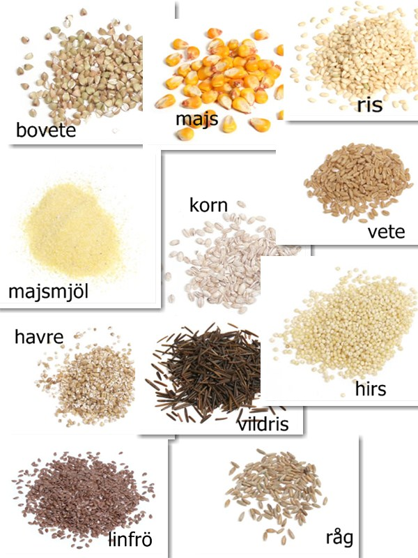 cereal - v u00e5rdsvenska
